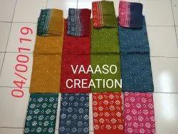 VAAASO CREATION Pure Cotton Ladies Dress Material