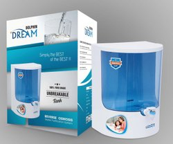 Ro&uv Blue Dolphin Water Purifier, For Home, Capacity: 7.1 L to 14L