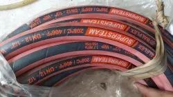 Red Rubber Steam Hoses Pipe