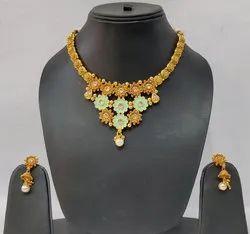 Golden Artificial Jewellery