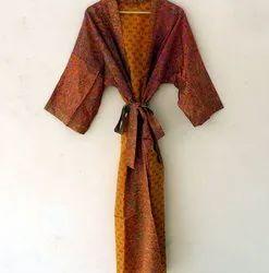 Vintage Silk Saree Kiminos