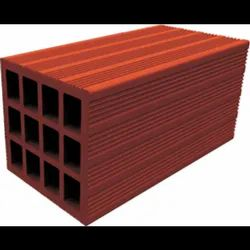 Clay Blocks Porotherm Hollow Block, For Partition Walls, Size: 12 x 4 x 4 Inch