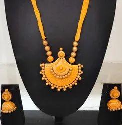 Fair Edeals Handmade Hand- Painted Fashion Jewelry - Teracotta