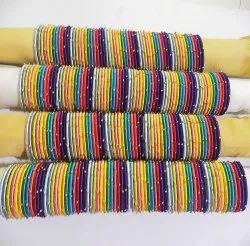 Traditional Wear Silk Thread Bangle