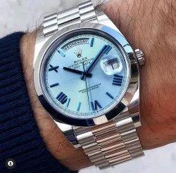 Analog Casual Wear Rolex Watch For Men