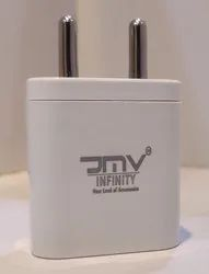 JMV Fast Charger 2.1 Amp (1 Year Warranty ) Portable Size