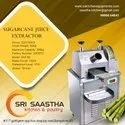 Commercial Automatic Tabletop Sugarcane Juice Machine, Yield: 400 Ml/kg