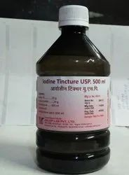 Relief lab Iodine Tincure, Packaging Size: 500 ML