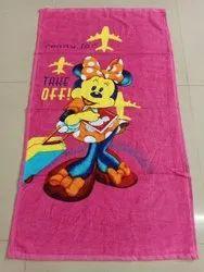 Red Cartoon Towel, Size: 20*34