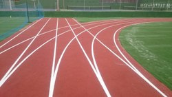 Acrylic Running Track