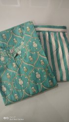 VC Casual Wear Cotton Kurti Pant Set