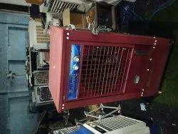 Metal honey pad air cooler