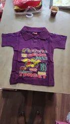 Formal Wear Round Kids Tshirt, Size: 3-4 years