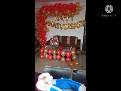 Anniversary, Pan India, Balloon &roj Flawer