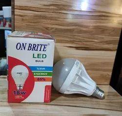 Ceramic ON BRITE LED bulb 18w, Lighting Color: Pure White