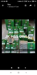High Speed Steel Jk Hss Drill Bits, For Industrial