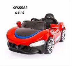 Red Plastic Kids Car