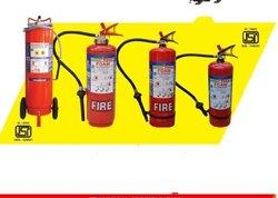 Foam type fire extinguisher, Capacity: 6 kg