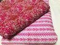 Sanganeri hand block printed pure cotton fabric