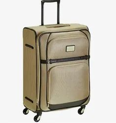 Latte And Brown Polyester Samsonite Sbl Imperia Suitcase, Size: 52x36x76 Lxwxh