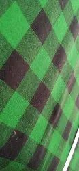 Jacquard Haider Check Fabric 150 Gsm, Plain/Solids, Multiple