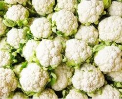 White A Grade Fresh Cauliflower, 10 Kg, Pesticide Free  (for Raw Products)