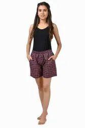 Cotton Regular Wear Girls shorts