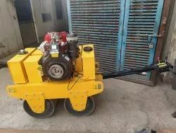 IROTECH INDIA Walk Behind Double Drum Vibratory Roller