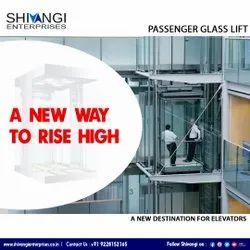 Passenger glass lift