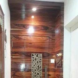 interior designing Wooden Safety Door