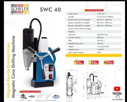 Magnetic Core Drilling Machines