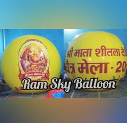 Advertising Balloon For Temple