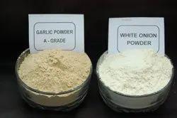 Pink,Red & White Dehydrated Onion And Garlic Powder, Packaging: Raffiya bag & Cartons