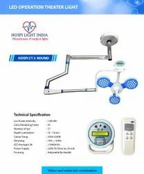 Ceiling Mounted Surgical Light With Controller
