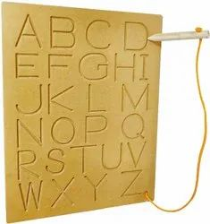 Educational toys, alphabet tracing board