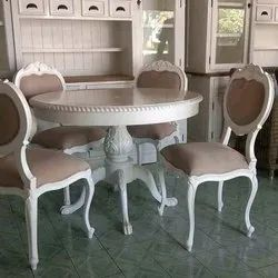 Dimensions: 3x3 55 Kg Round Daining Table