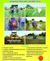 Tractor Operated Automatic Boom Sprayer For Sugarcane,orchard Crops