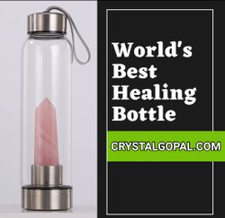 Crystal Infuser Water Bottle