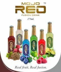 Glass Bottle Sugar Mojo Reo Soft Drink, Packaging Size: 275 ml