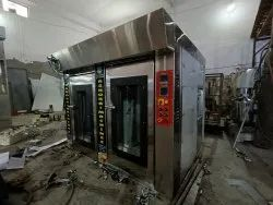 12 Tray Rotary Rack Oven With Proofer Chamber