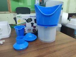 KC Green Virgin Plastic 3 In 1 Steam Inhaler, Facial Sauna & Vaporizer