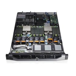 Dell Poweredge R620 Rack Server 16core, 64gb, 600gbx2 sas