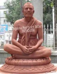 Marble Ramakrishna Paramhans Statue