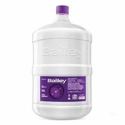Bottles Bailley's and Bislari Packaged Drinking Water