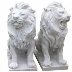 Marble Loin Statue
