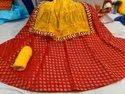 Heavy Brocade Skirt