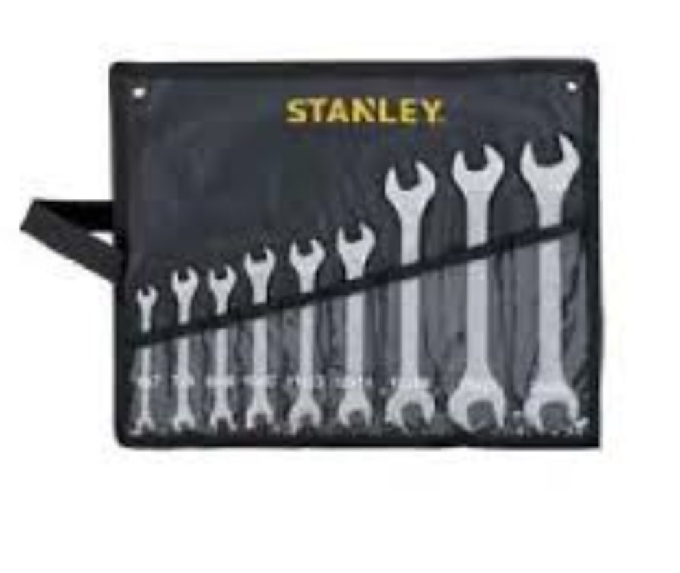 DOUBLE OPEN END SPANNER SET - ANSI