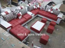 U Shape Sofa Set