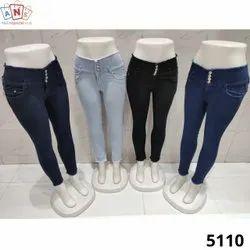 Denim quality Blue Ladies Jeans
