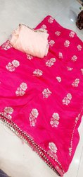 Pure Dola Real Zari Saree